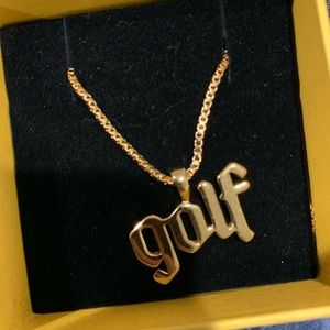"Tyler the Creator ""Golf"" necklace"